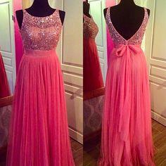 Pink prom. dress