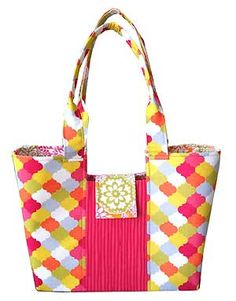 The Gracie Handbag Pattern by Lazy Girl Designs is now available in PDF (downloadable) format.