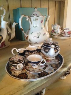 Perfect elegant & sturdy little tea set fit for a princess!