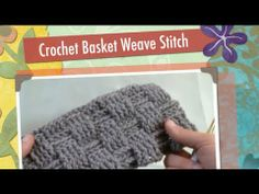 For more information or more free crochet ideas check out http://www.allfreecrochet.com In this tutorial, Mikey from Mikeyssmail takes crocheters through the beginning stages of setting up to do the basket weave stitch. He then goes further to get you started and by the end, you will also being a crochet basket weave stitch expert. Enjoy this fr...