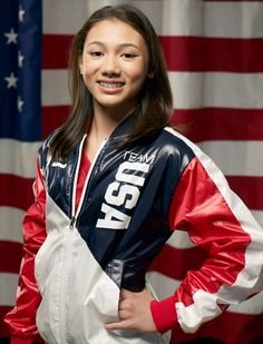 Kyla Ross just made the 2012 Olympic team. Only 15 years old! Her dance floor routine was set to the phantom of the opera.