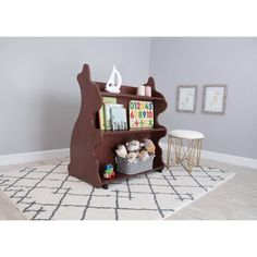 Ace Baby Furniture Rabbit Mobile Double-Sided Bookcase - MBRCH1052