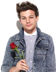 Louis Tomlinson. Yes i will accept this rose(: