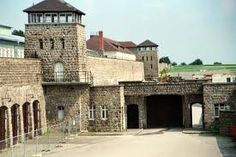 Mauthausen - concentration camp memorial in Austria