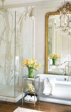 35 Awesome Interior Designs With Using Marble trendy marble bathroom interior design to copy,. - 35 Awesome Interior Designs With Using Marble trendy marble bathroom interior design to copy, - Dream Bathrooms, Beautiful Bathrooms, Marble Bathrooms, Luxury Bathrooms, Bathroom Interior Design, Home Interior, Marble Interior, Mansion Interior, Interior Livingroom