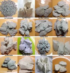 The edible clay  edible chalk. 4 types of clay  4 от ShopMumio