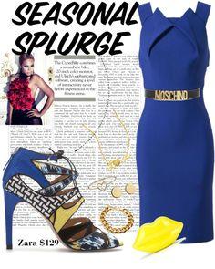 """Seasonal Splurge: Zara Lace-ups"" by fashionslavebyc on Polyvore"