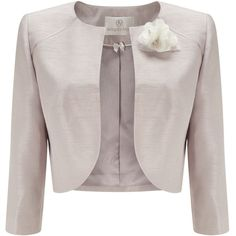 Jacques Vert Raglan Detail Bolero ($180) ❤ liked on Polyvore featuring  outerwear, jackets
