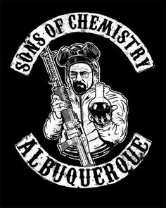 Sons of Chemistry: Albuquerque by spacemonkeydr. Nice, love breaking bad