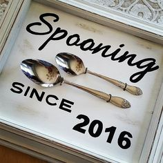 Spooning since 2016. Makes a great wedding/shower gift for a happy couple. Any year can be made for an anniversary too. Available at Roost.  #dowhatyoulove #lovewhatyoudo #love #homedecor #madewithlove #weddinggift #bridalshower #handmadegifts #madeinwisconsin #gratefuldaisycarole #carolestoffel #makersgonnamake #calligraphy #creativityfound #spooning #mkeartist #mkelocal #buylocal #buyhandmade #shoplocal #roostatlynndalefarm