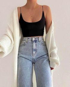 Teen Fashion Outfits, Retro Outfits, Mode Outfits, Look Fashion, Korean Fashion, Fall Outfits, Summer Outfits, Girl Fashion, Fashion Tips