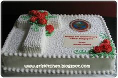 Pictures of Church Cakes Anniversary Cake Designs, Anniversary Decorations, Blaze Birthday Cake, Pastor Anniversary, Anniversary Ideas, Preacher Cake, Christian Cakes, New Cake Design, Church Altar Decorations