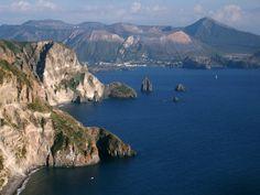 Il mare (di Lipari) - Italy