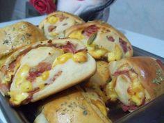 Pãezinhos de presunto e queijo especial - Ideal Receitas