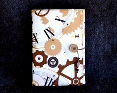 Your place to buy and sell all things handmade Sketch Paper, Steampunk Gears, Fabric Journals, Journal Notebook, Easy Drawings, Notebooks, Art Projects, Clock, Writing