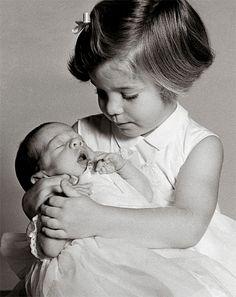 Caroline, born in November 1957, considered John Jr, born in November 1960, as her birthday gift.