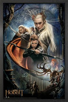 The Hobbit Desolation of Smaug BowS Framed Poster #Hobbit #DOS #Legolas #Elves #Frame #Poster http://www.gbposters.com/framed-posters/The-Hobbit-Desolation-of-Smaug-Bows-Framed-Maxi-Poster