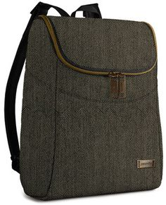 Pacsafe Citysafe Anti-Theft Backpack. Seriously, don't leave home without an anti-theft bag.