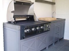 1000 images about buitenkeuken zitplaats on pinterest outdoor kitchens carport garage and tuin - Barbecue ontwerp ...