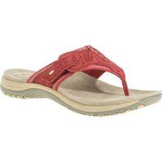 Earth Spirit Women's Tori Sandal, Size: 6.5, Red