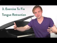 Ep. 33 Tongue Retraction- Voice Lessons To The World Knowing what to do with the tongue is one of the important concepts in all of singing and vocal technique. In Episode 33, New York Vocal Coachings Justin Stoney discusses one of the most common issues: tongue retraction. With vocal exercises and demonstrations, hopefully singers everywhere will learn how to fix this very common and limiting problem. Enjoy Voice Lessons To The World!