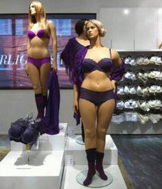 Despite being the healthiest country in the world, Sweden actually has mannequins that look like real women with real bodies instead of stick figures that can only target an extremely small portion of the population. This makes women able to relate to the clothes that they are buying and have a much more positive sense of self