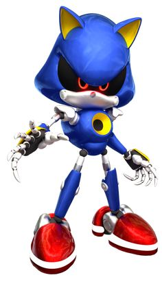 97 Tendencias De Metal Sonic And Other Metal Characters Para