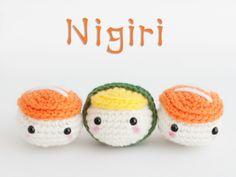 Amigurumi Sushi - FREE Crochet Pattern / Tutorial