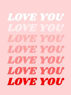 love you Art Print by typeangel Simple words, to say the p . - love you Art Print by typeangel Simple words, to say as often as possible.