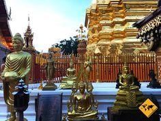 Wat Phra That Doi Suthep - die heiligste Stätte von Chiang Mai Thailand, Chiang Mai, Temples, Destinations, History