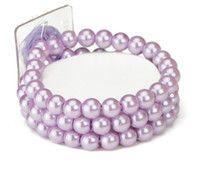 Purple Wedding Supplies | Wedding Flower Bracelet in Lavender | Wedding Corsage Purple Bracelet