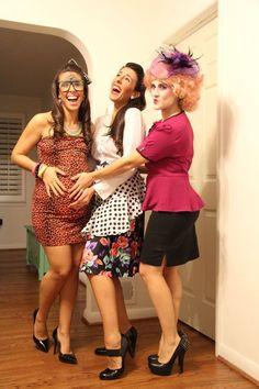 Happy Halloween from Prego Snook, 50s Housewife, and Effie Trinket!