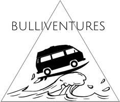 Welle surfboard und VW T3 Bulli Bulliventures