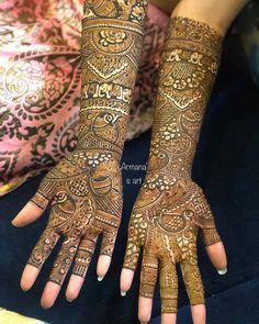 Engagement Mehndi Designs, Wedding Mehndi Designs, Bridal Mehndi Designs, Bridal Henna, Henna Designs, Mehndi Images, Henna Mehndi, Tattoos, Instagram