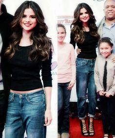 Selena Gomez at the Boston Jingle Ball - 2013
