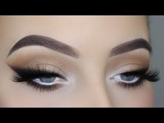 Smoked Out Winged Liner Tutorial - YouTube