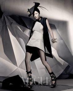 Modern Structure, Vogue Korea March 2010