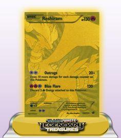 RESHIRAM GOLD SHINY HP130 - 114/113
