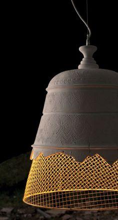 myeyesopen:    GYPSUM PENDANT LAMP DOMENICA BY @Karman srl | DESIGN DARIO DE MEO, LUCA DE BONA