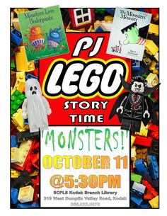 PJ Lego Story Time - Kodak Branch Library