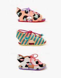 Zomooi: The coolest baby sandals! Beeld Sophia Webster kinderschoenen gevonden via #Chloe Fleury