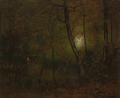 Pool in the Woods George Inness (1892)