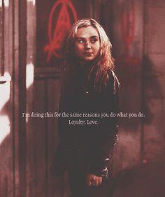 Loyalty. Love. Things demons shouldn't feel.