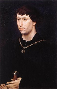 Portrait of Charles ''Bold': Duke of Burgundy - Rogier van der Weyden