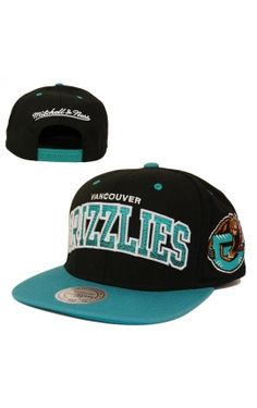 CASQUETTE MITCHELL NESS SNAPBACK ARCGRA GRIZZLIES