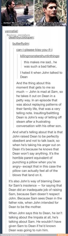I really didn't like John. Not one bit. And this sums up exactly why.