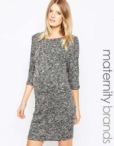 New Look Maternity Zip Back Dress