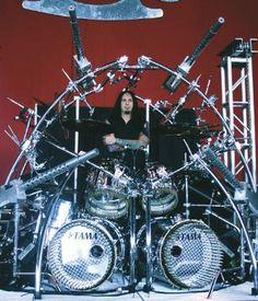 Jeremy Spencer's Gibraltar Drum Rack