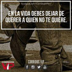 No queda de otra.!   ____________________ #teamcorridosvip #corridosvip #quotes #frasesvip