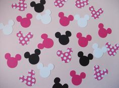 Ready to Ship Minnie Mouse Birthday Party by sweetheartpartyshop, $12.00